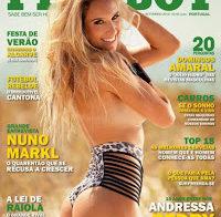 Andressa Pedry na Playboy de Setembro