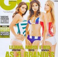 Liliana Santos, Marta Leite de Castro e Rita Andrade despidas (GQ 2007)