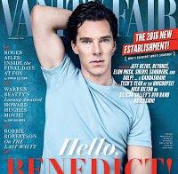 Benedict Cumberbatch em entrevista à Vanity Fair
