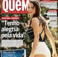 O rabo da actriz brasileira Mariana Ximenes