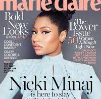 Nicki Minaj em entrevista à Marie Claire