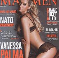 As mamas de Vanessa Palma topless (Maxmen 2009)
