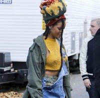 Rihanna não gosta de soutiens