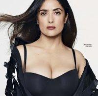 Salma Hayek sensual aos 50 anos