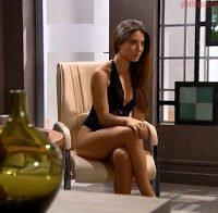 Corpo deslumbrante de Carolina Santos de lingerie