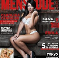 Carolina Carvalho despida (revista Men's Code 2014)