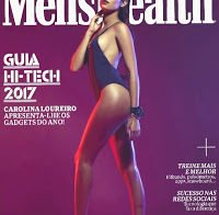 O corpo de Carolina Loureiro despida (Men's Health)