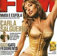 Carla Salgueiro despida em lingerie (FHM 2009)