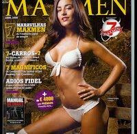 Joana Duarte sensual (Maxmen 2008)