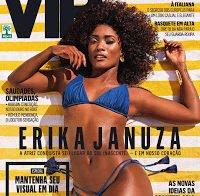 Actriz brasileira Erika Januza despida (Outubro 2016)
