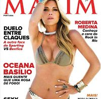 Oceana Basílio despida na Maxim (2012)