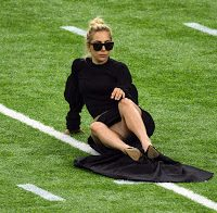 Upskirt de Lady Gaga (Super Bowl 2017)