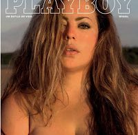 Fluvia Lacerda nua na Playboy