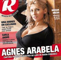 Agnes Arabela despida na Revista R (2017)