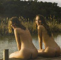 Todas as fotos das gémeas Matias nuas (Playboy)