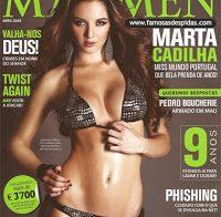 Marta Cadilha na Maxmen (2010)