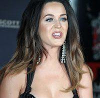 Katy Perry com grande decote