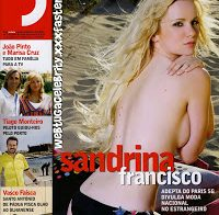 Sandrina Francisco despida na Revista J (2009)