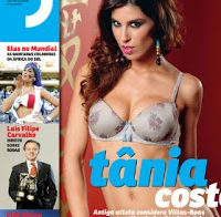 Tânia Costa despida (Revista J 2010)