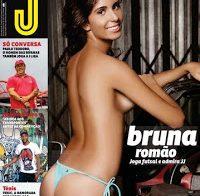 Bruna Romão sexy na revista J