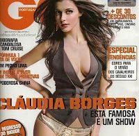 Cláudia Borges despida na GQ (2009)
