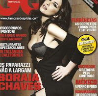 Soraia Chaves sensual de lingerie (GQ 2010)