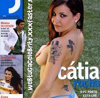 Cátia Rocha nua (Revista J 2009)