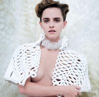 Emma Watson em topless