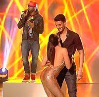O corpo de Iva Domingues a dançar (programa Let's Dance)
