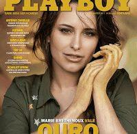 Marie Brethenoux nua (Playboy Março 2017)