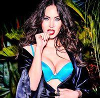 Megan Fox de lingerie (V Magazine 2017)