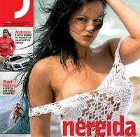 Nereida Gallardo nua (Revista J 2008)