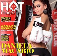 Daniela Macário despida (Hot Magazine 2012)
