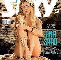 Ana Saad nua (Revista Sexy Março 2017