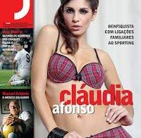 Cláudia Afonso despida (Revista J 2009)