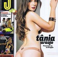 Tânia Araújo topless (Revista J 2015)
