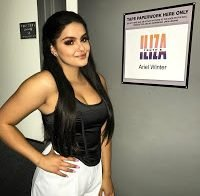 Ariel Winter com enorme decote