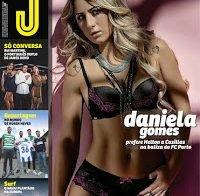 Daniela Gomes despida na Revista J (2015)