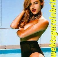 Joana Alvarenga topless (GQ 2011)