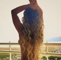 Luciana Abreu posta foto em topless