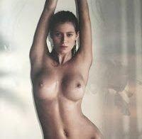 Alejandra Guilmant posa nua em revista