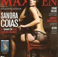 Sandra Cóias sensual (Maxmen 2009)