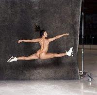 Ashley Wagner nua (patinadora norte-americana)