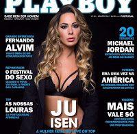 Juliana Isen nua na Playboy (ex-concorrente Love on Top)