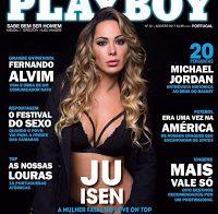 Juliana Isen nua na Playboy (ex-concorrente Love on Top)