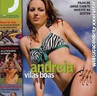 Andreia Vilas Boas despida (Revista J 2009)