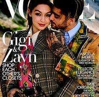 """Gigi Hadid e Zayn Malik cobrem a Vogue, e falam na tendência da """"moda fluente de género"""""""
