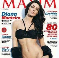 Corpo deslumbrante de Diana Monteiro (Maxim 2012)