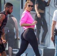 O belo rabo de Jennifer Lopez