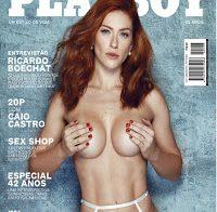 Renata Longaray nua (Playboy Brasil Julho 2017)